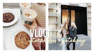 VLOGG | Stockholm & Göteborg med vänner!