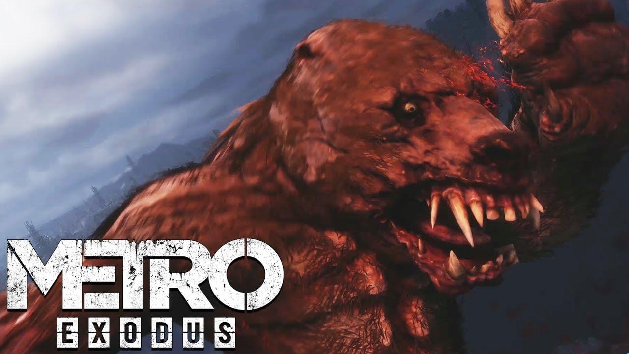 Mutant Bear Boss Fight Metro Exodus