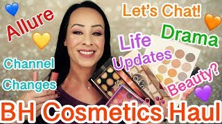 BH Cosmetics Haul & Chat Chat/Allure/Channel Changes
