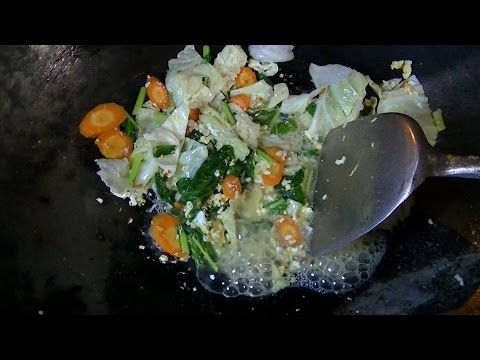 Jakarta Street Food 939 Tegal Fried Ten Vegetables Cap Cay Goreng Tegal BR TiVi 5785