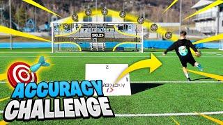 🎯⚽ ACCURACY FOOTBALL CHALLENGE! Sfide di precisione - w/T4tino23 & Sg Soccer