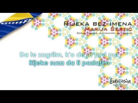 "Marija Šestić - ""Rijeka Bez Imena"" (Bosnia & Herzegovina) - [Karaoke version]"