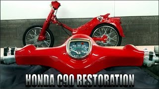 It\'s Getting Exciting Now! -Part 5 ( Honda C90 FULL RESTORATION )