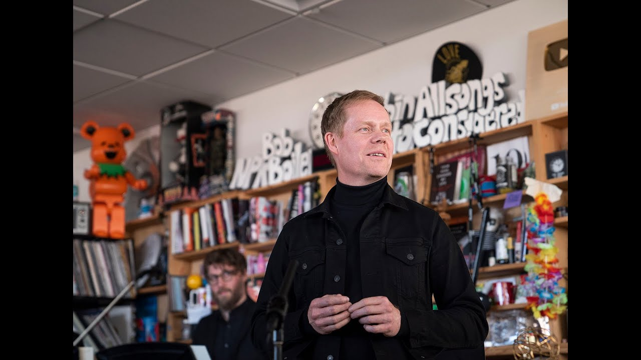Max Richter: NPR Music Tiny Desk Concert