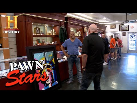 Pawn Stars: Rick Low Balls a Peter Max Painting | History