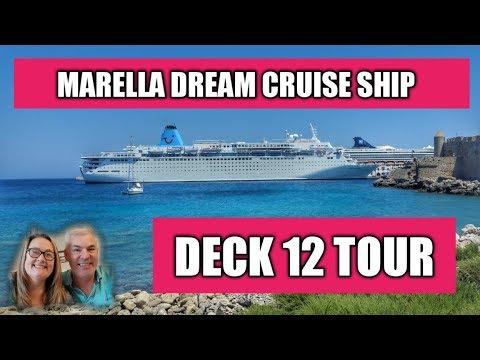 Thomson Dream Cruise Ship Deck Tour Marella Dream YouTube - The thomson dream cruise ship