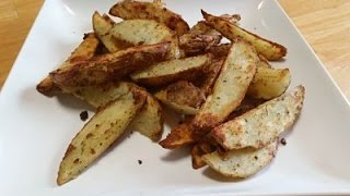 Baked Parmesan Ranch Potato Wedges-In The Kitchen With Sandy Episode 46