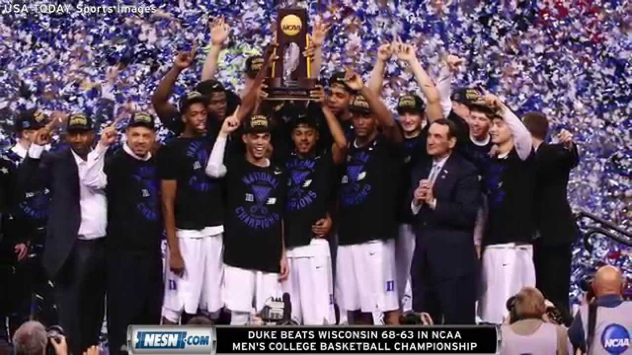 duke beats wisconsin 68 63 in ncaa mens college basketball championship