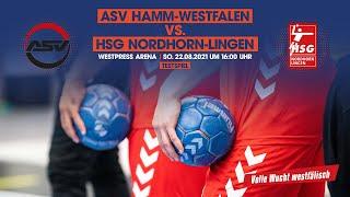 ASV Hamm-Westfalen gegen HSG Nordhorn-Lingen