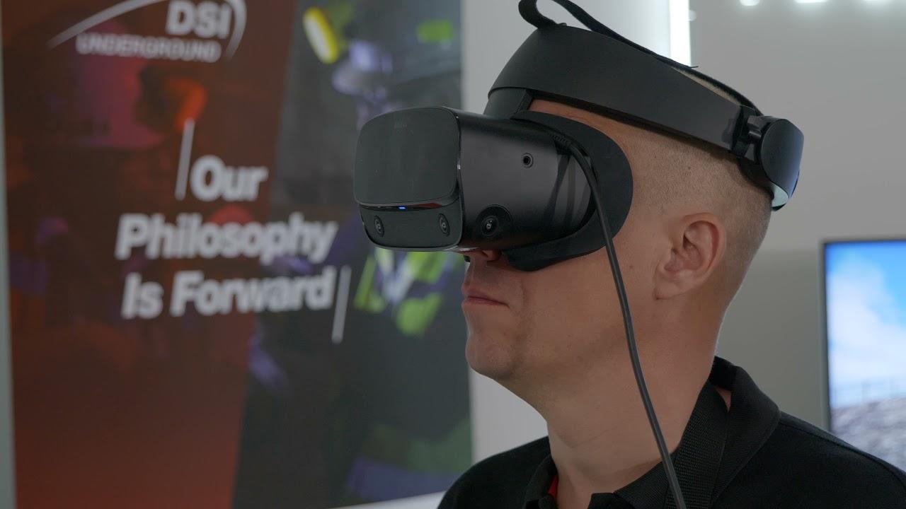 VR Pipe Umbrella Simulator - DSI Underground