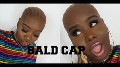 ♡ Perfect Bald Cap EASY ! Tips & Tricks | Wig Caps for WOC