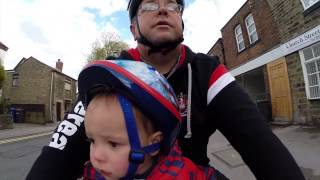 Video Thomas' First Bike Ride with the Wee Ride seat download MP3, 3GP, MP4, WEBM, AVI, FLV Juni 2018