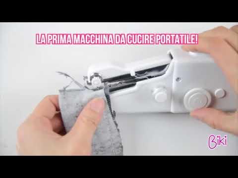 Biki la mini macchina per cucire portatile che hai sempre for Macchina da cucire mini portatile