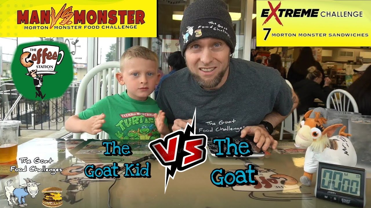 TGFC's E128 - Morton Monster eXtreme Challenge | The Coffee Station | The Goat Kid is Back!