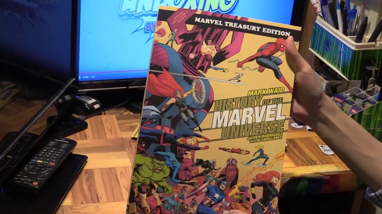 20 History of the Marvel Universe Treasury Edition