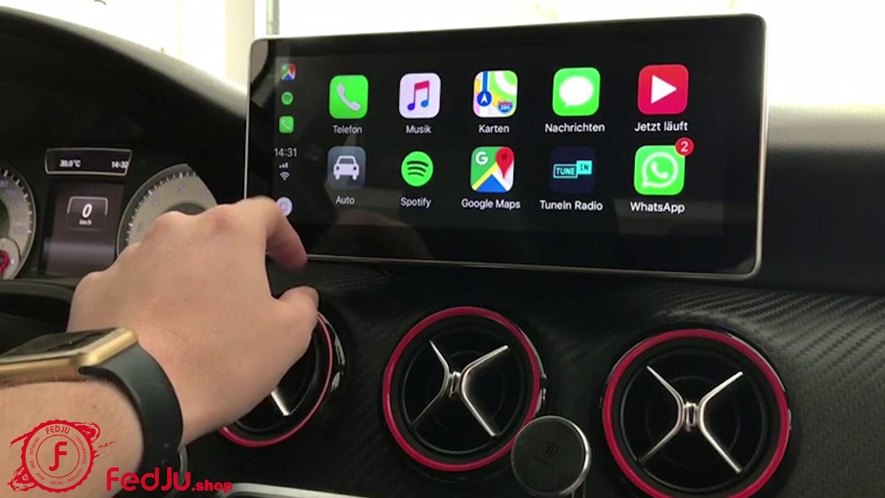 """Mercedes Benz Cla >> 10.25"""" Android 7.1 Display für Mercedes Benz - YouTube"""