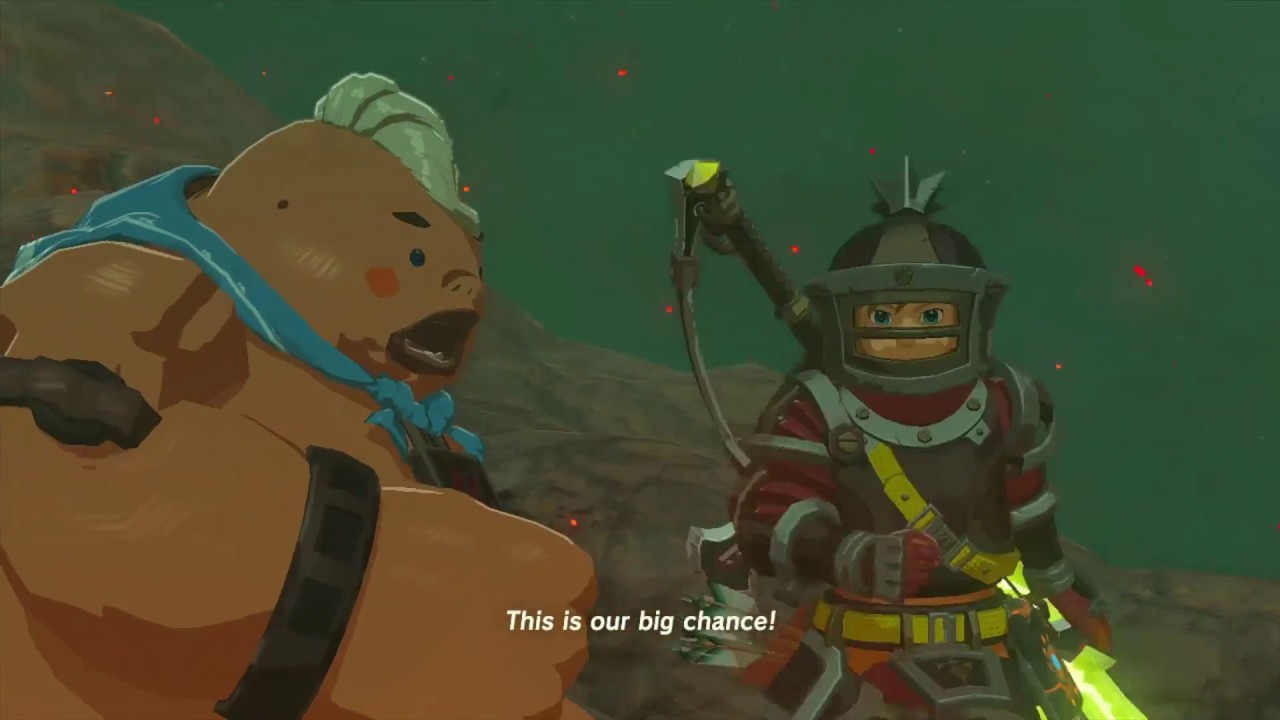 how to get to death mountain botw