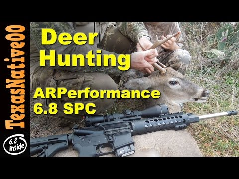 Deer Hunting With The ARPerfomance 6.8 AR15 Rifle