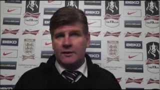Brian Laws On The Grimsby Loss