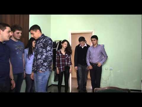 Шаамирян школа г. Еревана - Видеоприставка для показа на проекторе во время Последнего Звонка - 1
