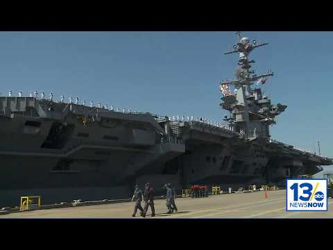 The USS Harry S. Truman Carrier Strike Group Deploys from Naval Station Norfolk