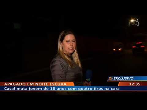 DFA - Casal mata jovem de 18 anos com quatro tiros na cara