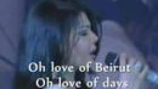 "Haifa Wehbe ""Hawa Beirut"" May 2008 concert, subtitles English  هيفاء وهبي"