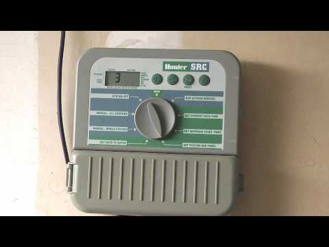 how to program a hunter src series sprinkler timer Hunter Fan Wiring Schematic