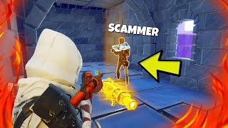 DUMMER YOUNG SCAMMT ME😱 but then this happened... Fortnite Save the World