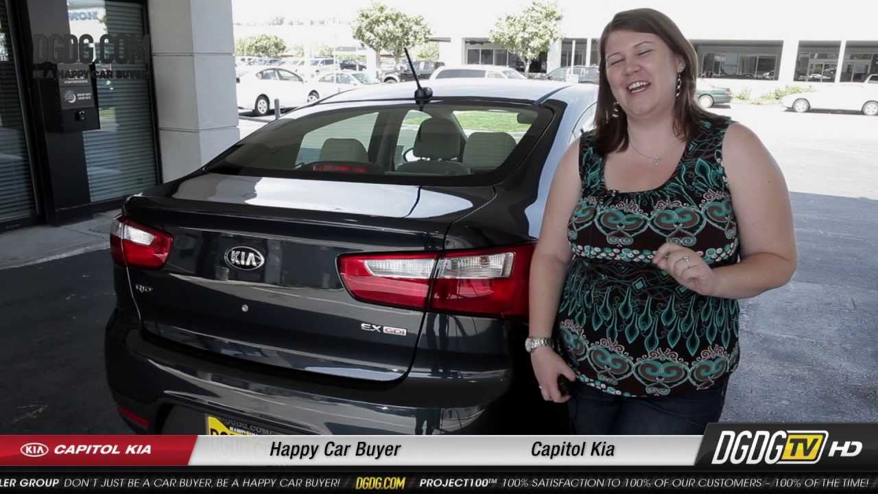 2013 KIA Rio | Capitol Kia, Happy Car Buyer | San Jose, CA