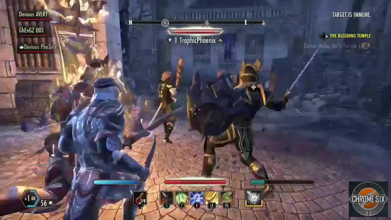 Stamina Redguard Templar Build - YouTube
