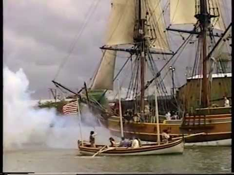 Visit Lady Washington during Aberdeen SPLASH 2000 (Complete)