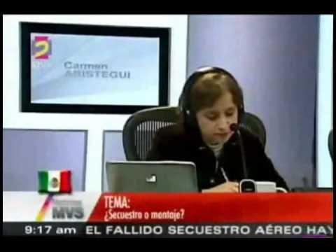 Secuestro De Avion o Montaje De Garcia Luna (¿Que Le Sabe Al Presidente?) NOTICIAS MVS 3/3