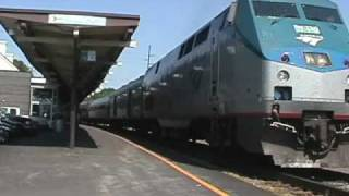 Amtrak 80 departs Raleigh woman engineer wishes us good luck