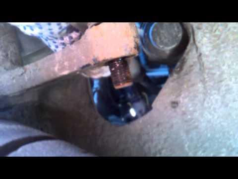 Снятие рулевых тяг с наконечниками на Ваз 2114 16 кл, без снятия колёс!Часть 3