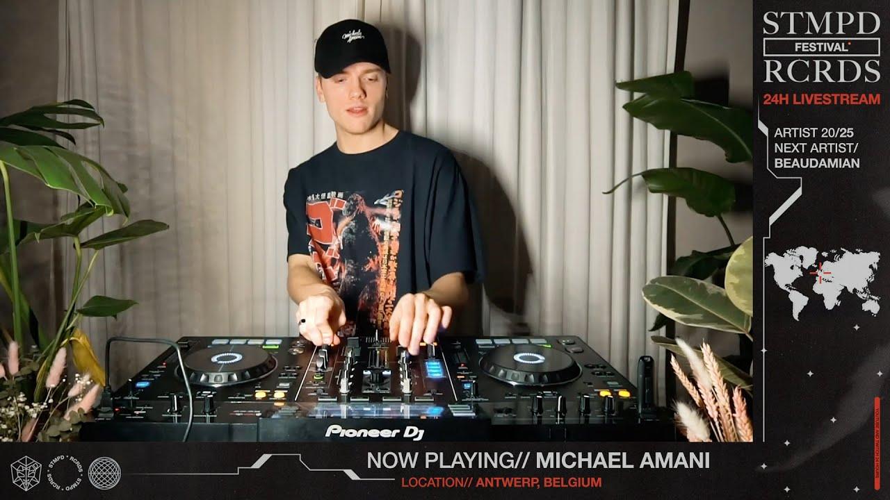Download MICHAEL AMANI LIVE @ STMPD RCRDS FESTIVAL