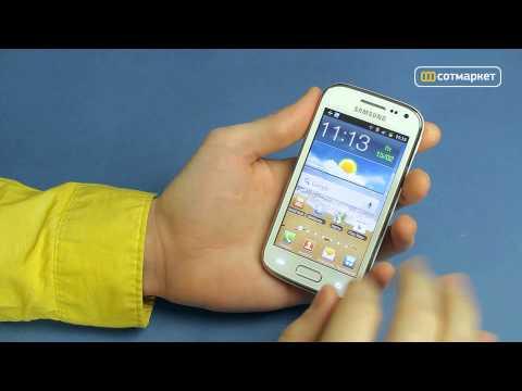 Видео обзор Samsung i8160 Galaxy Ace II от Сотмаркета