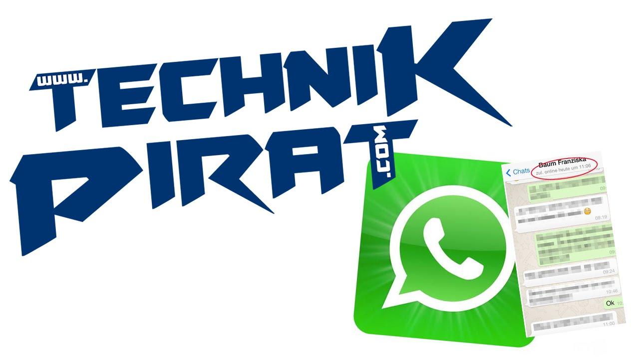 Whatsapp Zuletzt Online Status Unsichtbar Machen