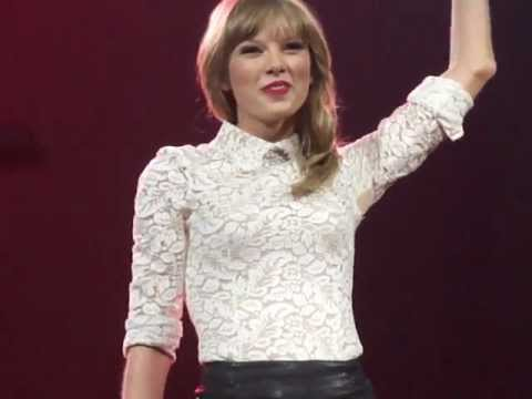 Taylor Swift- Entire Opening Speech To Red Tour