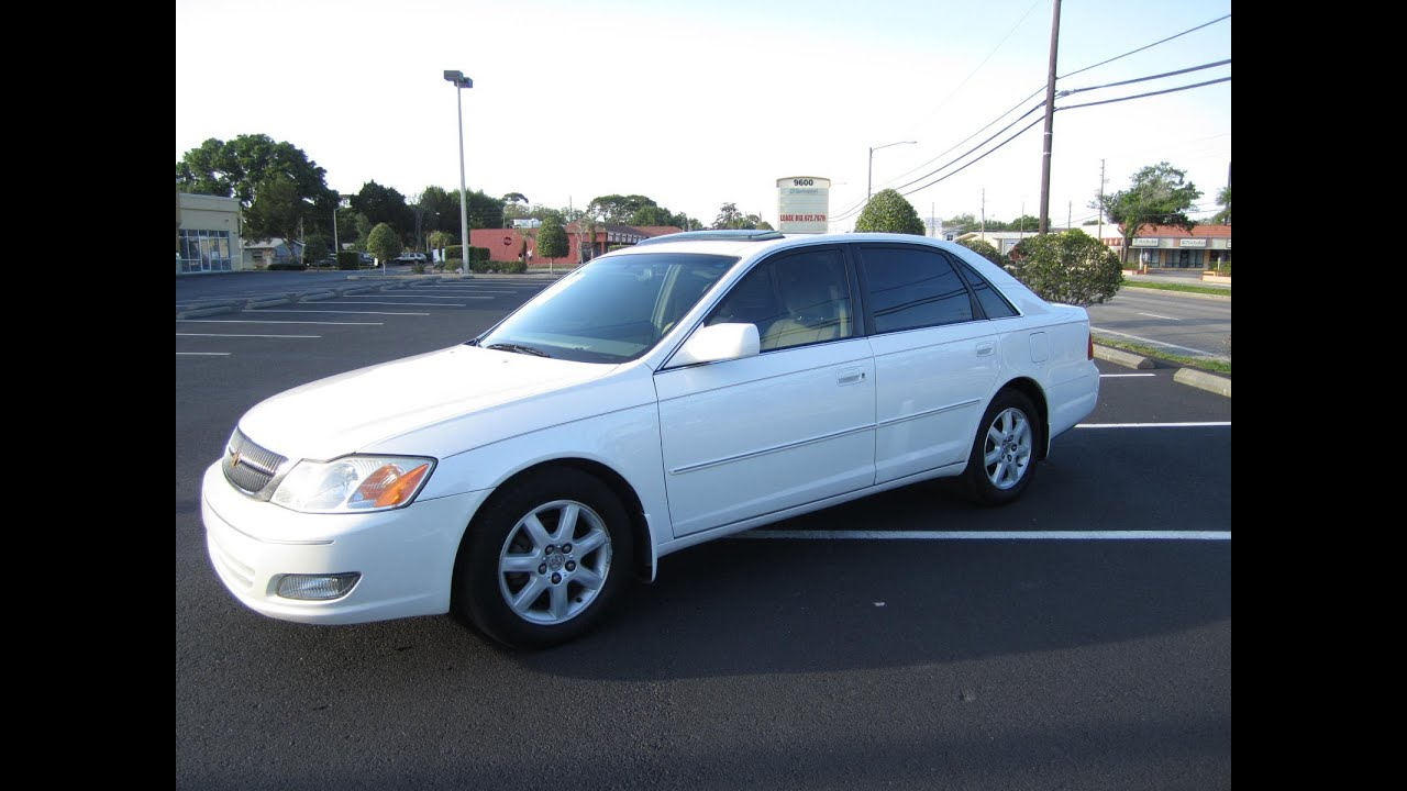 Sold Toyota Avalon Xls Meticulous Motors Inc Florida