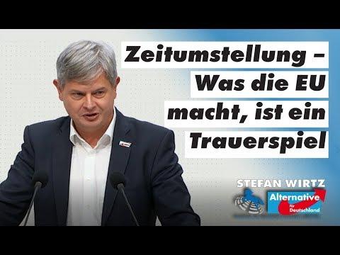 Zeitumstellung – Was die EU macht, ist ein Trauerspiel! Stefan Wirtz, MdL (AfD)