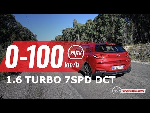 2019 Hyundai i30 N Line 0-100km/h & engine sound