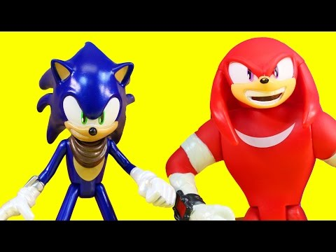 Sonic Boom Toys Sonic Vs. Knuckles Epic Battle