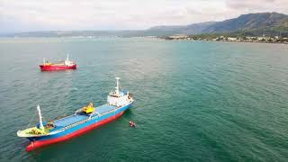 October 30, 2019/832. Drone flying over Macajalar Bay. Cagayan de Oro City Philippines ??
