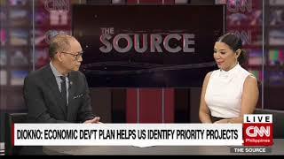 'The Source' speaks to Budget Secretary Ben Diokno