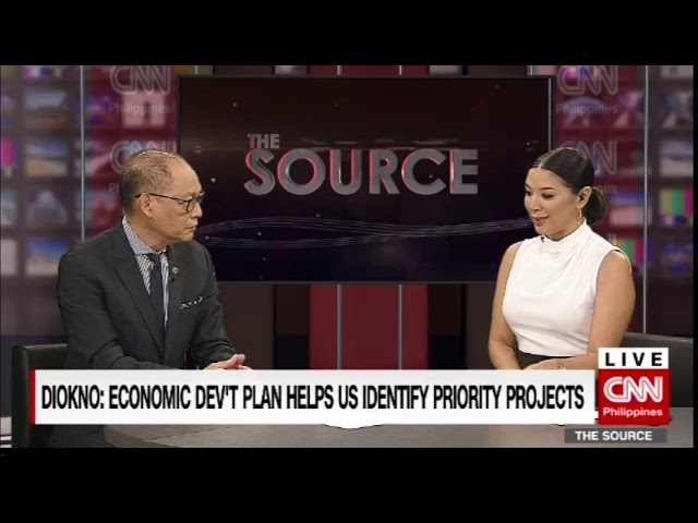 'The Source' speaks to Budget Secretary Ben Diokno