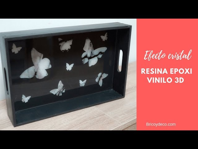 Resina epoxi vinilo 3D en español   Epoxy Resin Art