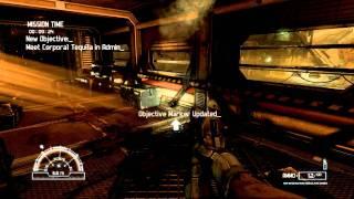 Alien Vs Predator XFX HD5770 DX11 gameplay