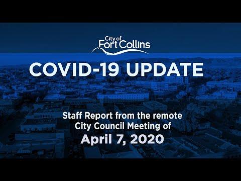 view COVID-19 Update - 4/07/20 video