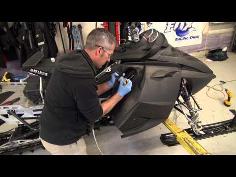Ski doo 700 REV Mod sled build, ep#33 WRP Vent Kit Install! PowerModz!